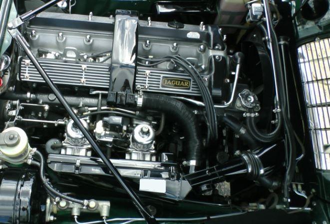 used jaguar engine