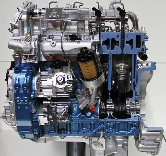 used mitsubishi engine