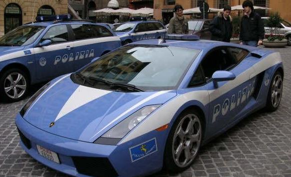 Lamborghini Gallardo (Police Expensive car)