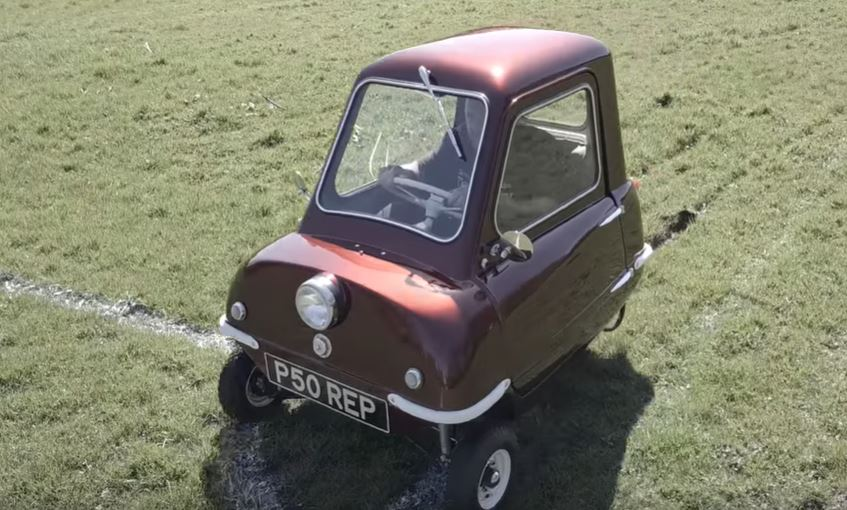 Peel P50 Car(slowest car)