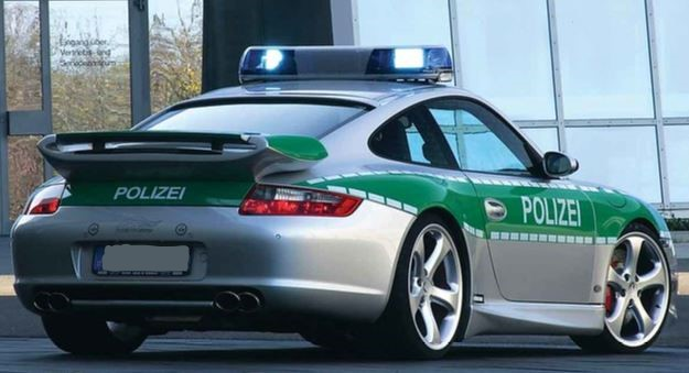 Porsche Carrera 911 (Police Expensive car)