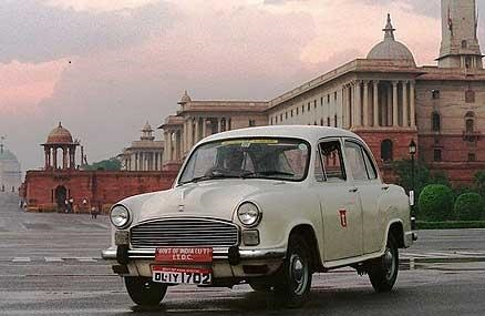 Hindustan Ambassador Car(slowest car)