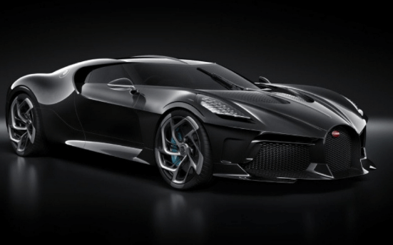 The Black Car - Bugatti Voiture