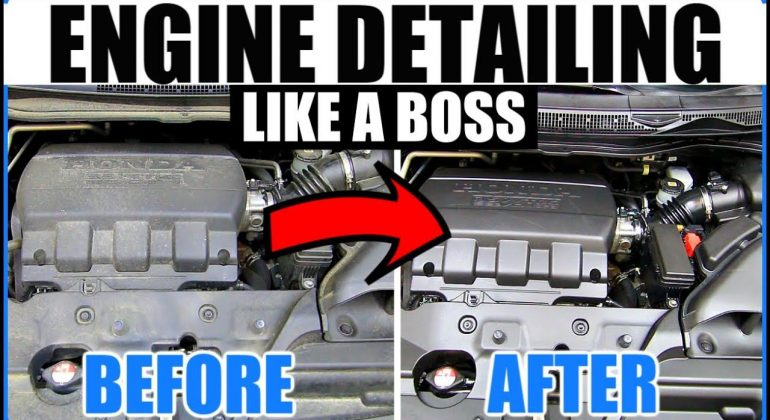 how-to-clean-car-engine-without-water
