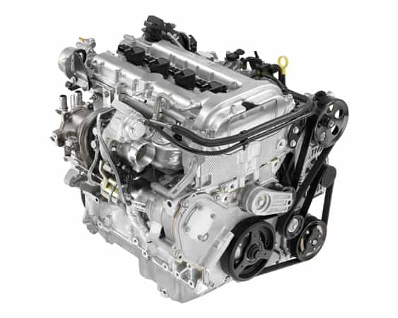 Rebuilt Buick engine 1