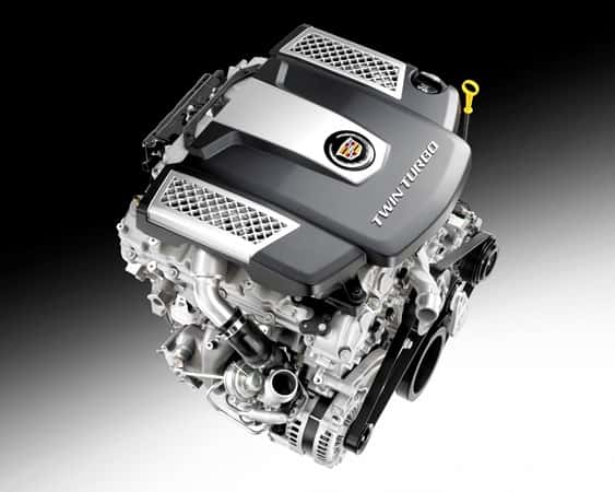 Rebuilt Cadillac engine 1