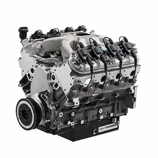 Rebuilt Chevrolet engine 1