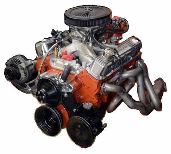 Rebuilt Dodge engine 1