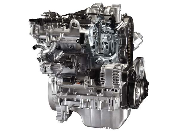 Rebuilt Fiat engine 1