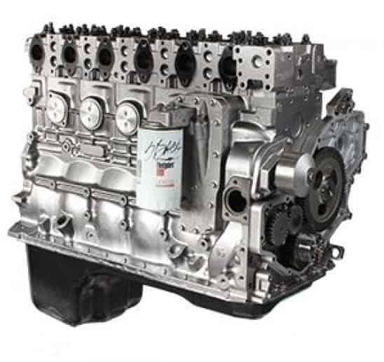 Rebuilt Freightliner engine 1