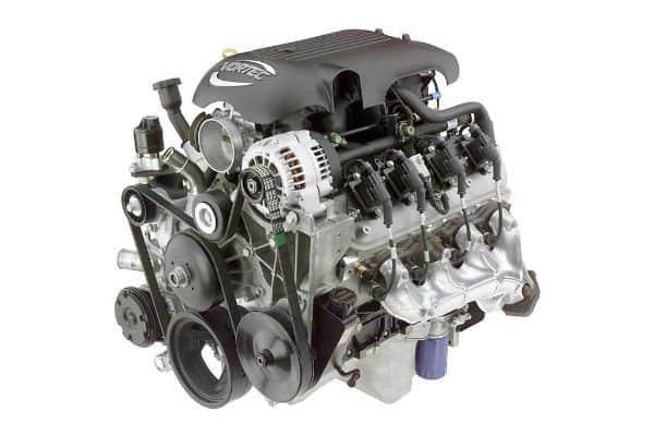 Rebuilt Hummer engine 1