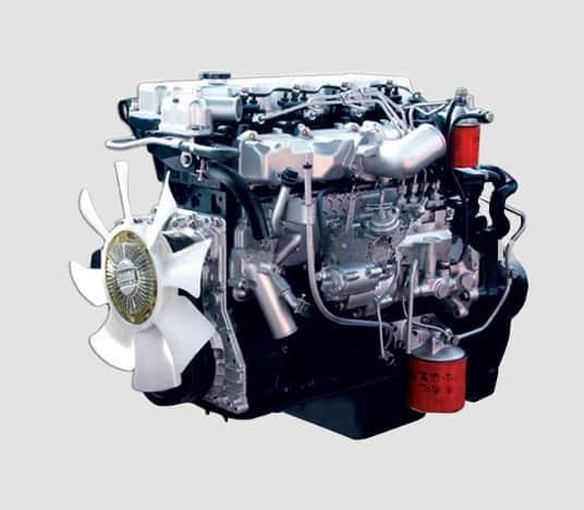 Rebuilt Isuzu engine 1