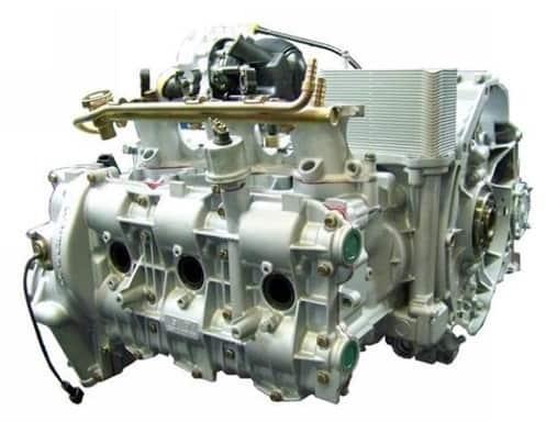 Rebuilt Porsche Engine 1