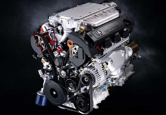 Rebuilt Acura engine 1