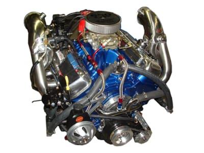 Rebuilt Mercury engine 1