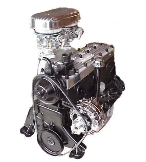 Rebuilt Plymouth engine 1