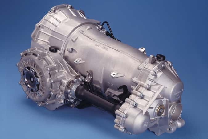 Remanufactured Porsche Transmission 1